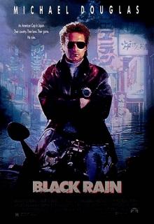 Black rain ( Černý déšť ) - DVD plast