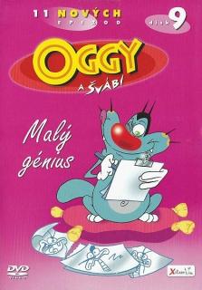 Oggy a švábi 9 - Malý génius - DVD