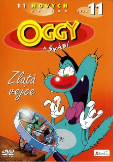 Oggy a švábi 11 - Zlatá vejce - DVD