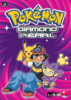 Pokémon Diamond and Pearl - DVD 1.-5. díl