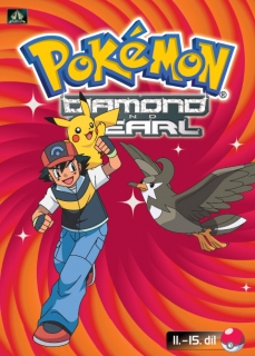 Pokémon Diamond and Pearl - DVD 11.-15. díl