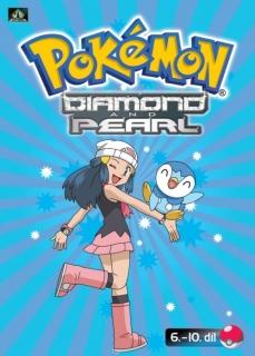 Pokémon Diamond and Pearl - DVD 6.-10. díl