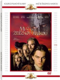 Muž se železnou maskou - DVD