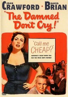 The Damned Don't Cry ( Prokletí nepláčou) - DVD plast