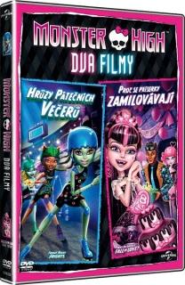 Monster High - dva filmy: Hrůzy pátečních večerů / Proč se příšerky zamilovávají - DVD