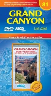 Nejkrásnější místa světa 81 - Grand Canyon - DVD