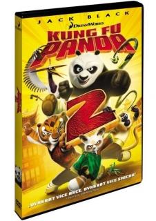 Kung Fu Panda 2 - DVD plast - bazarové zboží