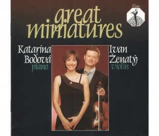 Great Miniatures - Ivan Ženatý & Katarína Bod´ová - CD