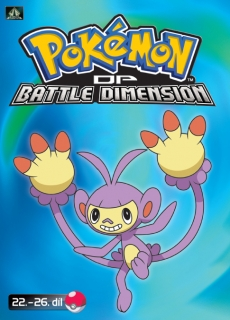 Pokémon : DP battle dimension 22. - 26. díl - DVD