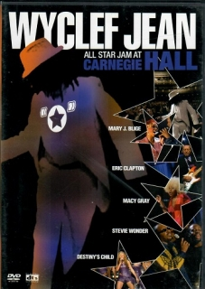 Wyclef Jean - ALL star jam at Carnegie Hall - DVD