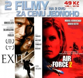 Air Force 2 + Exit - DVD